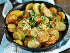 receta de papas al horno asadas