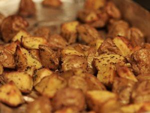 papas al horno con oregano
