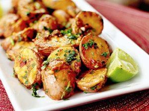 receta de papas al horno con perejil