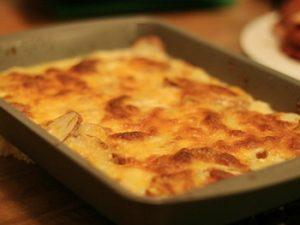 receta de papas gratinadas al horno