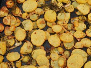 receta de papas al horno crocantes o crujientes